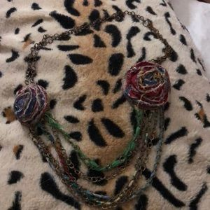 Jewelry - Bundle 2/$12 Unique multi color and layer necklace